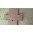 Red I Shape Clay I Pavers, Size: 9 X 6 X 3 Inch