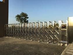 SS Collapsible Gate, For Security Purpose