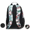 Colored Printed School Bag