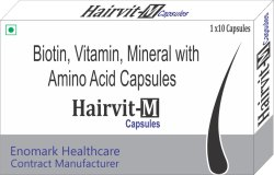 Biotin Vitamins Minerals With Amino Acids