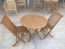 Wooden 2 1 Foldable Set
