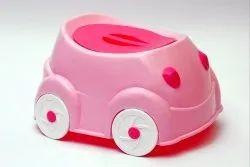 RIVER PLAST MIX POTTY CAR SHAPE, Packaging Type: Box