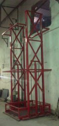 Double Mast Type Wall Mounted Stacker