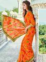 Rajasthani Bandhej Saree
