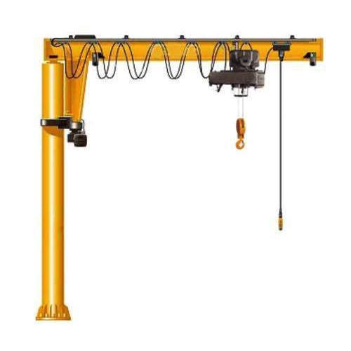 Pillar Mounted Jib Crane, Max Height: 0-20 feet