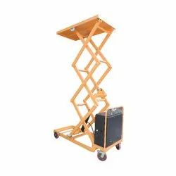 1000 Kg Movable Hydraulic Scissor Lift Table
