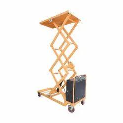 1000 Kg Movable Hydraulic Scissor Lift Table