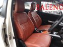 Brown Pu Leather Maruti Baleno Custom Car Seat Cover From Feather