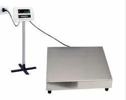 SAMURAI Digital SS Platform Scale, Pan Size: 400*400mm To 750*750mm, Weighing Capacity: 30kg To 500kg
