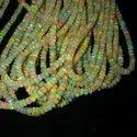 Yellow Ethiopian Opal Beads