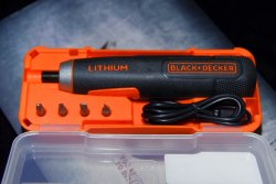 Black & Decker BD40K4-IN Scerewdriver, Warranty: 6 Months