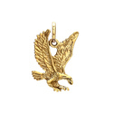 Religious Naturality Creative New Design Brass Gold Plated Pendant