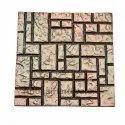 4 Designer Aluminum Wall Tiles