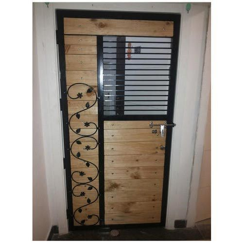 Metal Safety Door  sc 1 st  IndiaMART & Metal Safety Door at Rs 90 /square feet | Safety Doors - Jagdamb ...