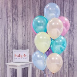 Pastel Colour Balloons