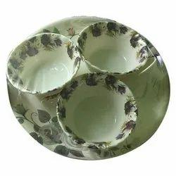 Melamine Plate With Bowl Set