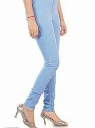 Women High Rise Slim Jeans Pant