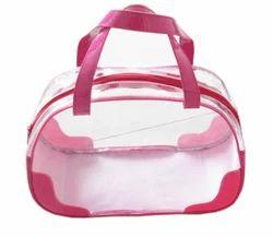 PVC Transparent Quilt Bag, Capacity: 5 Kg - 6 Kg