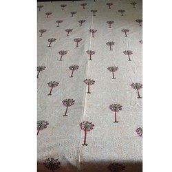 White Printed BEDSHEETS HAND BLOCK PRINTING SERVICES, Size: 90x108 Inch