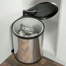 SS Kitchen Dustbin