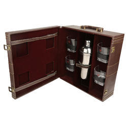 Brown - 04 Portable Cocktail Set