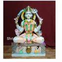 Santoshi Mata Marble Statue