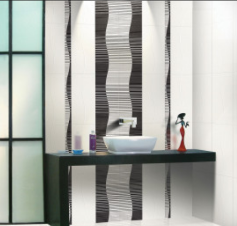 AGL Tiles Wave Bianco Ceramic Wall Tiles