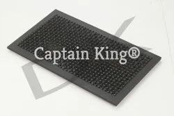 Cast Iron Puffer Plate 10x22 Inches