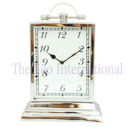 Decorative Table top Stainless Steel Clock