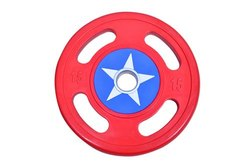 Roxan TPR Coated Captain America Plate