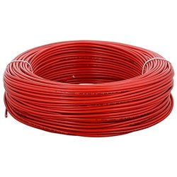 Polycab Red 6 Sqmm PVC Insulated Copper Wire