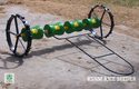 Hand Operated 8 Row Plastic Drum Seeder