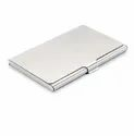 Aluminium and Leather ATM Card Holder
