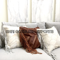 Sge Leather Cushion Cover