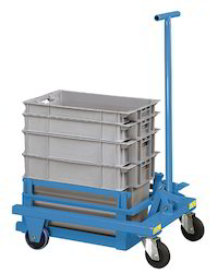 Crate Lifting And Transport Trolley