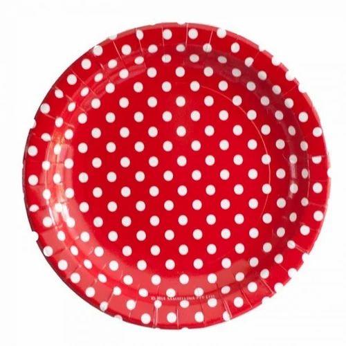 Polka Dot Printed Paper Plate  sc 1 st  IndiaMART & Polka Dot Printed Paper Plate at Rs 5 /piece | Paper Plate | ID ...
