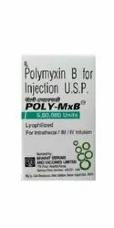 Poly MxB Polymyxin 5,00,000 IU Injection