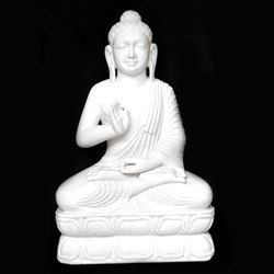 Marble Buddha Monumental Statue