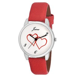 Jainx White Dial Analog Watch for Women & Girls JW553