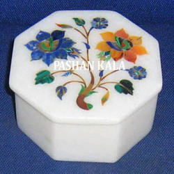 Inlay Design Marble Gift Box