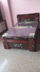Teak Ply Solid Single Bed