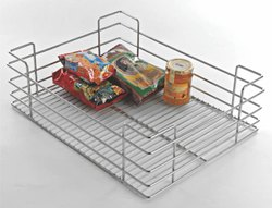 Modern Slick Designs Modular Kitchen Stainless Steel Baskets, Size: 400-900 Mm