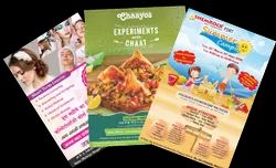 Paper Advertising Pamphlet Printing Service, Dimension / Size: A-4, In Delhi