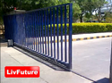Mobile Operated Automatic Gate