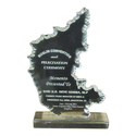 Karnataka Map Trophy