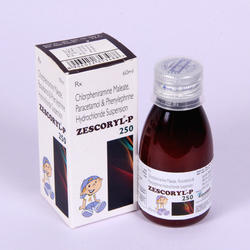Chlorpheniramine Maleate Paracetamol Syrup