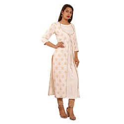 Printed Fancy Cotton Kurti