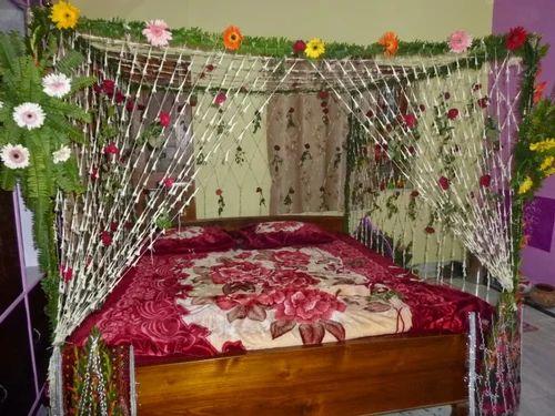 honeymoon wedding flower decoration room in egra midnapore ritu