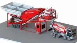 Cast Iron Mobile Concrete Plant