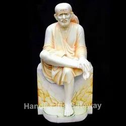 Indian God Marble Sai Baba Statue